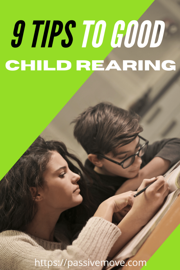 9 tips to good child rearing