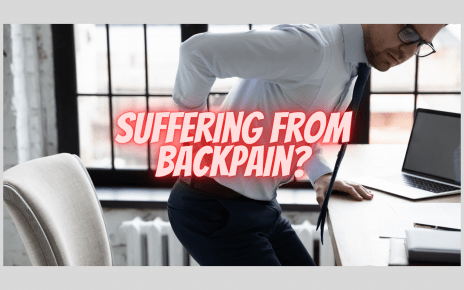 Suffering from backpain